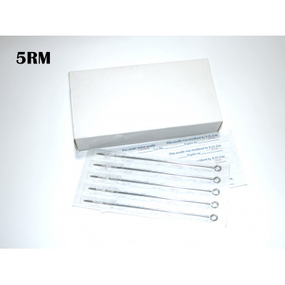 1205RM Barbell needles needle (in sterile packaging) - 50 ps