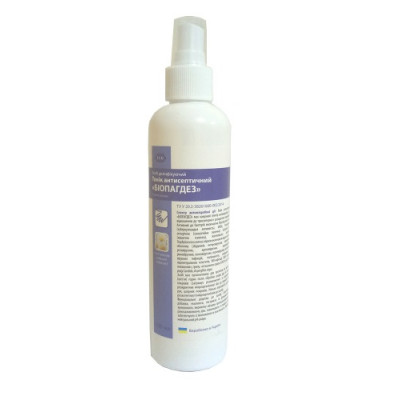 """Biopagdez"" - an antiseptic tonic, with a spray of 250 ml"