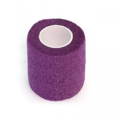 Elastic bandage (barrier protection) for toy cars (purple)