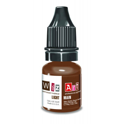 Light WizArt USA pigment for permanent makeup eyebrows 5 ml