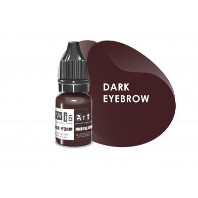 Dark Eyebrow WizArt USA microblading pigment 10 ml