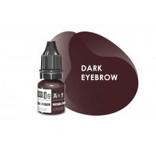 Dark Eyebrow WizArt USA microblading pigment 5 ml