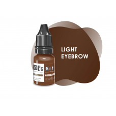 Light Eyebrow WizArt USA microblading pigment 10 ml