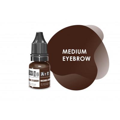 Medium Eyebrow WizArt USA microblading pigment 5 ml