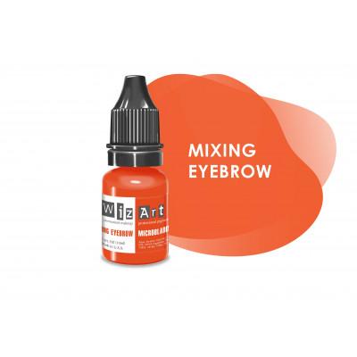 Mixing Eyebrow WizArt microblading pigment