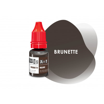 Brunette WizArt USA pigment for PM eyebrows