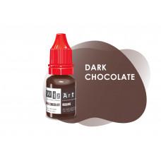 Dark Chocolate WizArt USA pigment for permanent eyebrow makeup 10 ml