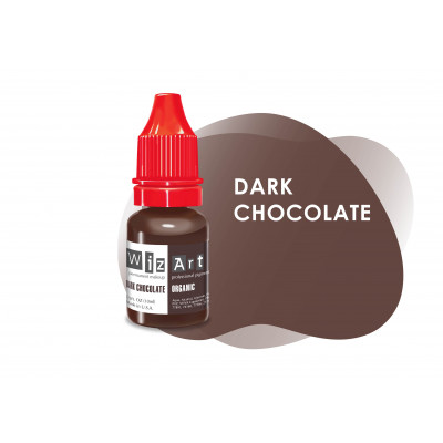 Dark Chocolate WizArt USA pigment for PM eyebrows