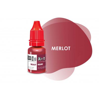 Merlot WizArt USA пигмент для перманентного макияжа губ 10 мл