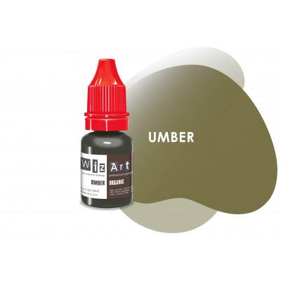 Umber WizArt USA пигмент для перманентного макияжа бровей 10 мл