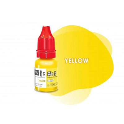 Yellow WizArt USA пигмент для коррекции 10 мл