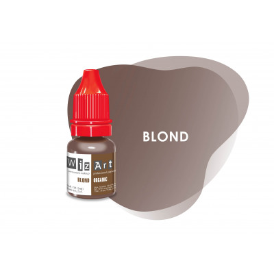 Blond   WizArt USA  pigment for PM eyebrows