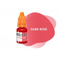 Dark Rose WizArt USA pigment permanent lip makeup 10 ml