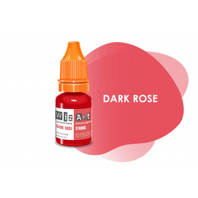 Dark Rose WizArt USA pigment for PM lips