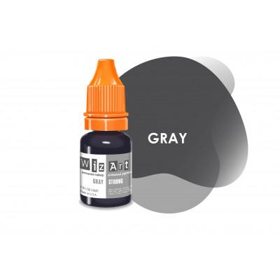 Gray WizArt USA пигмент для перманентного макияжа век 10 мл