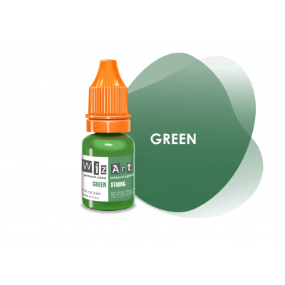 Green WizArt USA пигмент для перманентного макияжа век 10 мл
