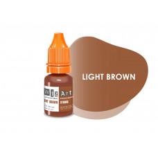 Light Brown WizArt USA pigment permanent eyebrow makeup 10 ml