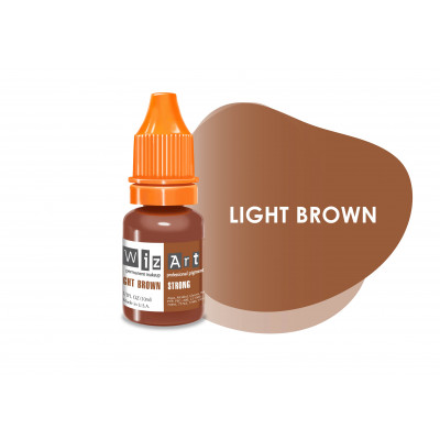 Light Brown WizArt USA pigment for PM eyebrows