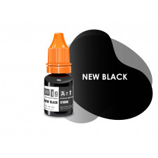 New Black WizArt USA pigment for permanent eyelid makeup 10 ml