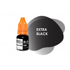 Extra Black WizArt USA pigment for permanent makeup of the eyelids 10 ml