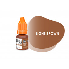 Light Brown WizArt USA pigment permanent eyebrow makeup 5 ml
