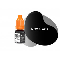 New Black WizArt USA pigment for permanent eyelid makeup 5 ml