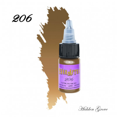 EVER AFTER 206 (Hidden Grove) pigment for permanent makeup eyebrows 15 ml
