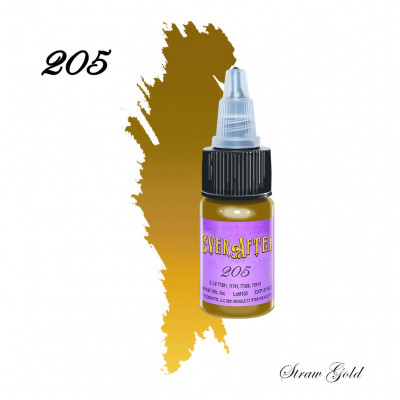 EVER AFTER 205 (Straw Gold) pigment for permanent eyebrow makeup 15 ml